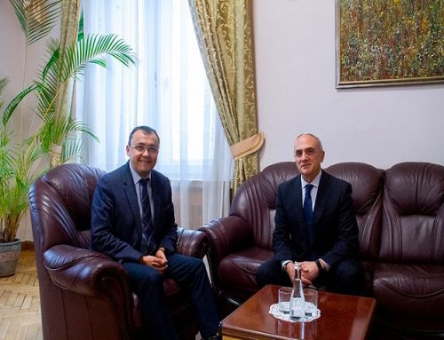 Meeting of GUAM Secretary General with Deputy Minister of Foreign Affairs of Ukraine