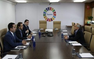 Meeting of GUAM Secretary General with the Secretary-General UNWTO