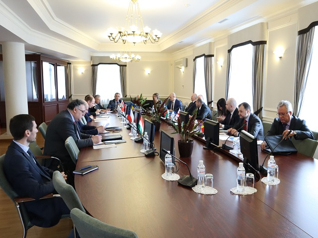 Meeting of Ambassadors of Visegrad Group and GUAM Member States