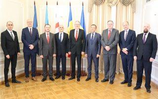 Встреча послов Вишеградской группы и государств-членов ГУАМ