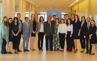 Генеральный секретарь ГУАМ встретился с участниками программы Caspian Basin Studies