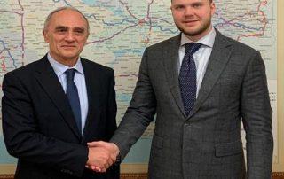 Встреча Генерального секретаря ГУАМ с Министром инфраструктуры Украины