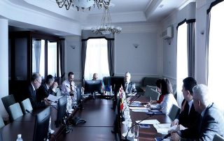 1st Meeting on the draft «GUAM Communication Strategy»